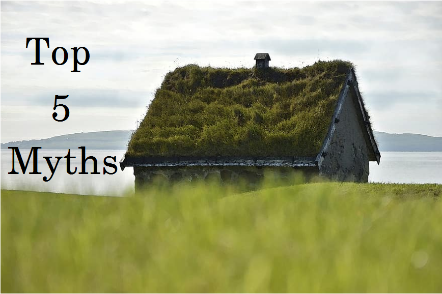5 Myths about the Green roof and the answers for them
