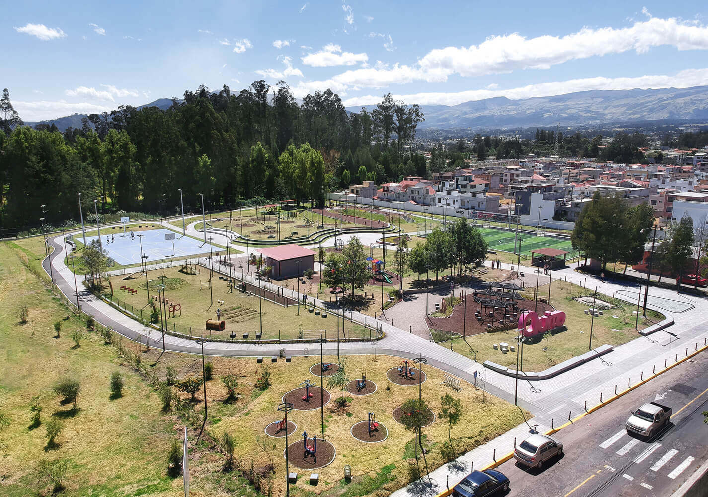 Parque 6 de Junio - Safe Public Space