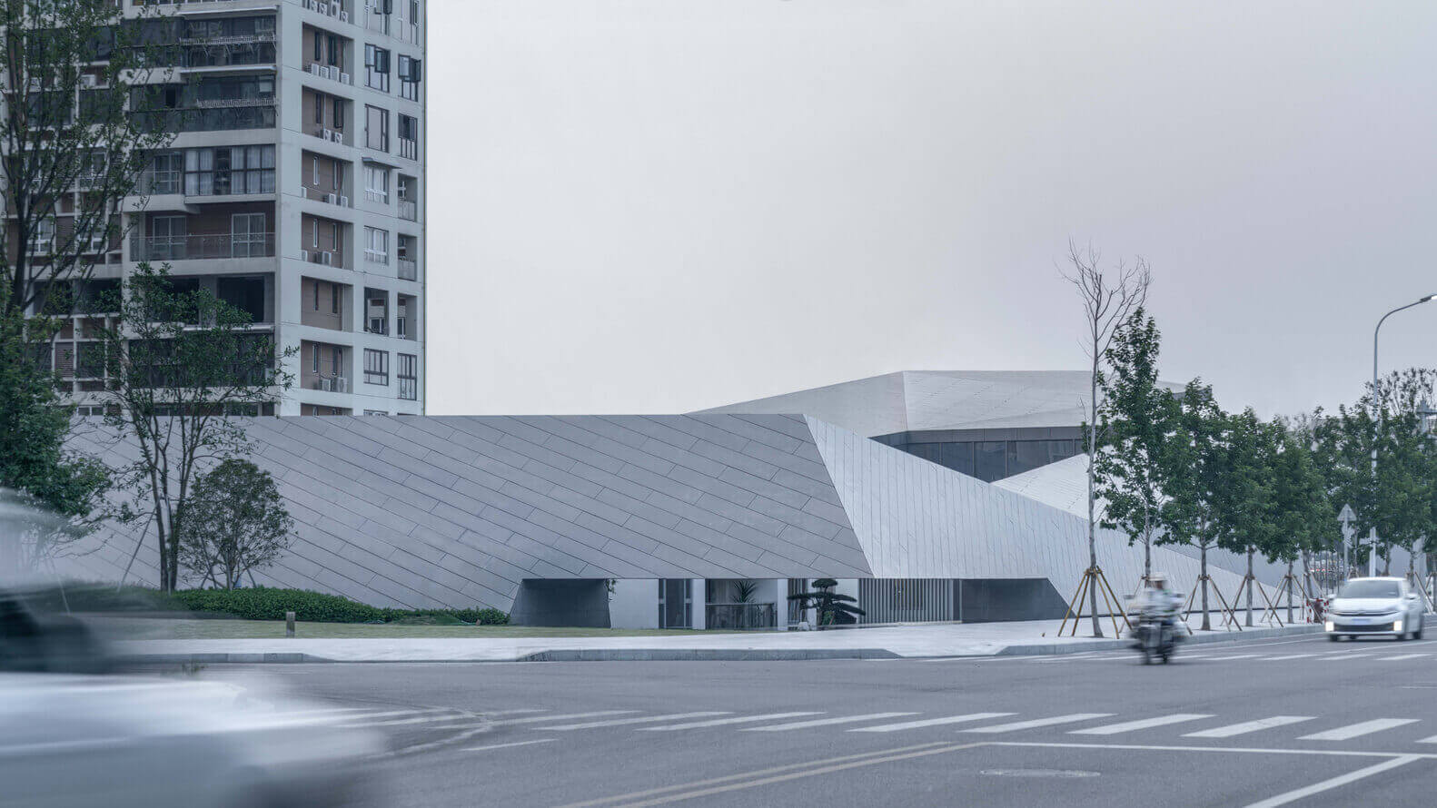Wenzhou Central Park Culture Club / Lacime Architects