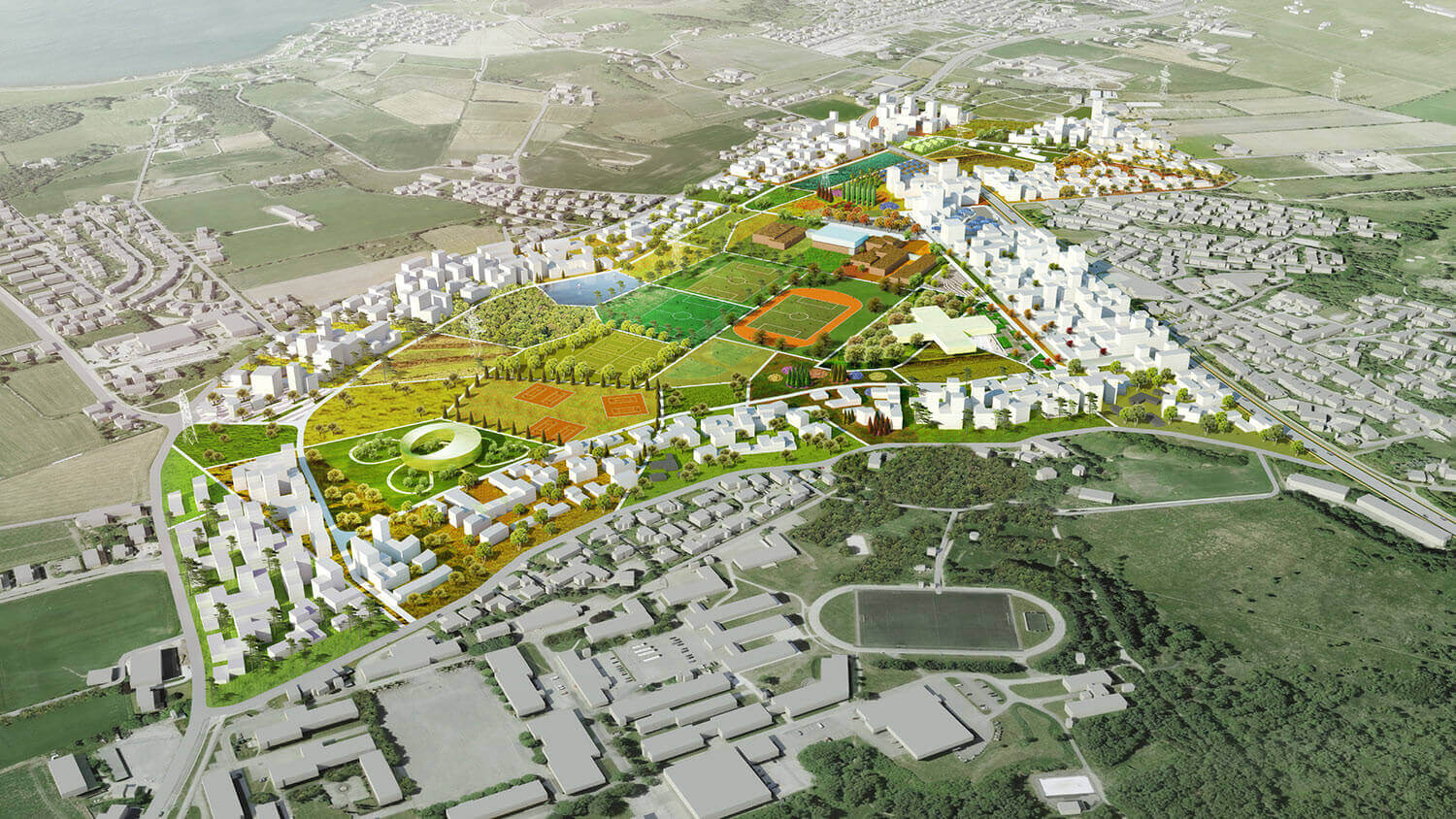 Madla-Revheim Masterplan Proposal