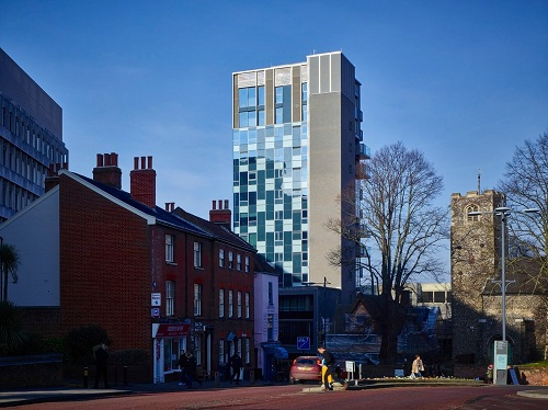 Westlegate Tower in Norwich